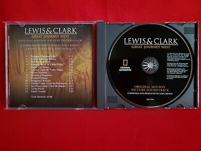 Lewis Clark Great Journey West 2002 Soundtrack Score CD Sam Cardon - $6.98