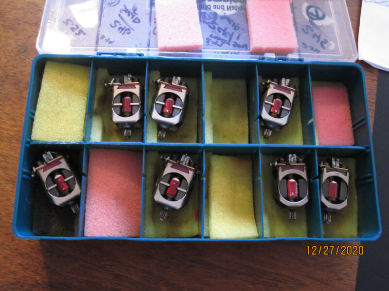7x  Pro Group 12 Motors Beuf Koford Red Fox   Wing Scale Euro12 Box probox