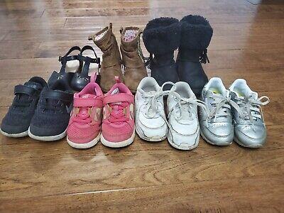 Nike,  Old Navy, Reebok Toddler Girl Shoes Size  -