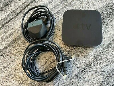 Apple TV (3rd Generation) Digital 1080p HD Media Streamer - Black (Model A1469)