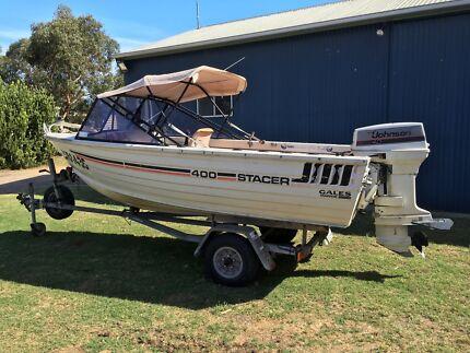 Stacer 4m alloy boat 1995