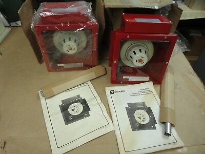Simplex Fire Alarm 2098-9648 Duct Smoke Housing Wdetector - Nos - Never Used