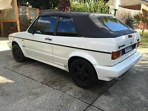 1993 Volkswagen Golf Convertible very good condition + REGO Nunawading Whitehorse Area Preview