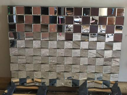 Mirror - Large modern feature wall mirror