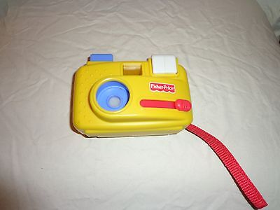 "1998 Fisher Price Click Button 5"" Camera Zoo Animals Slideshow Toddler Toy"