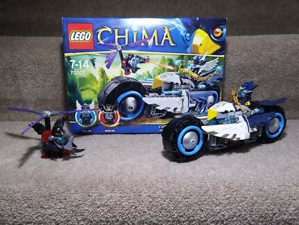 LEGO Chima 70007 Eglors transformable Bike + FREE Lego city
