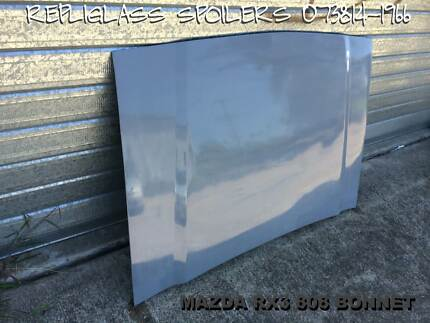 MAZDA RX3 808 FULL FIBREGLASS BONNET MORE THAN ONE AVAILABLE