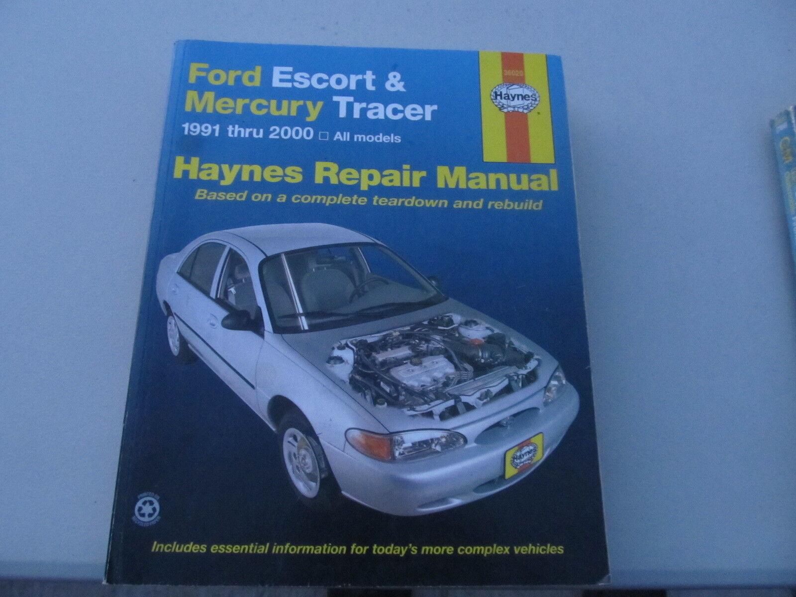 Haynes Ford Escort & Mercury Tracer 1991 through 2000 repair manual