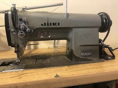 Juki Lh515 Industrial Double Needle Sewing Machine - Used
