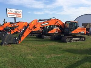 NEW DOOSAN DX225LC-5 (22.5 TON)-0.9% for 60 OR 5YR/7500HR WARR