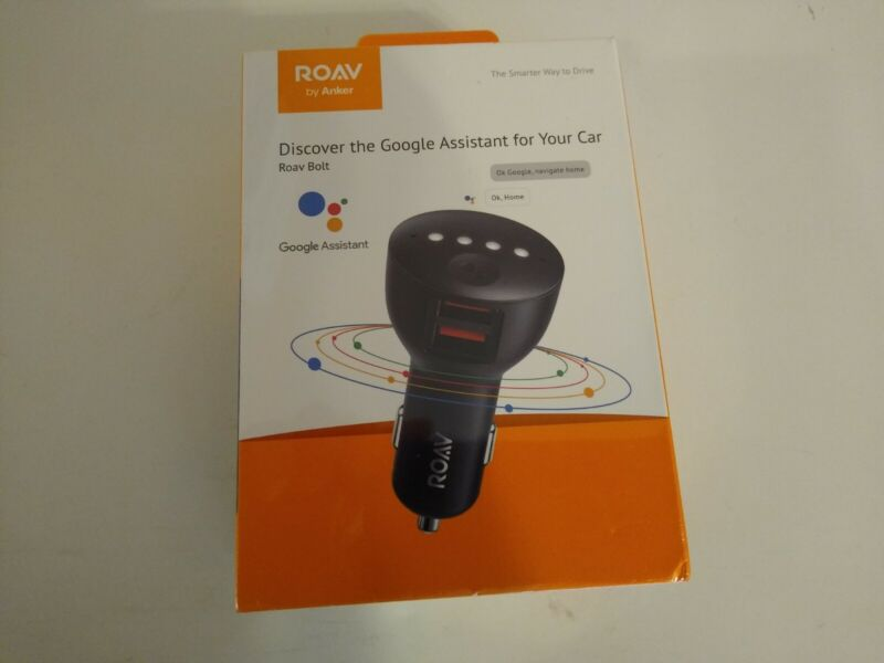 ROAV by Anker Roav Bolt Google Assist assistant for Your Car #R5360Z11.
