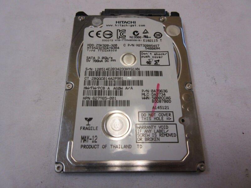 "Hitachi 320GB 5400RPM 2.5"" SATA Laptop Hard Drive HTS543232A7A384"