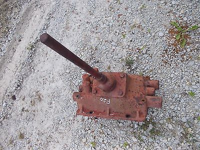 Mccormick Farmall F20 Tractor Transmission Cover Panel Gear Shift Shifter Tower