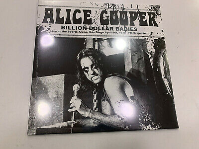 ALICE COOPER LP LIVE AT THE SPORTS ARENA SAN DIEGO 09/04/1979 SEALED