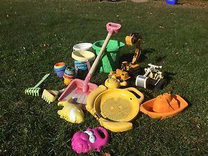 Ensemble de jouets pour le sable