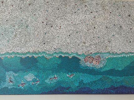 "New Original from Kari Art   ""Ningaloo Shore """