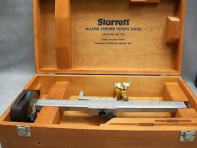 Starrett 254 Master Vernier Height Gage