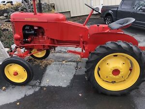 Antique Massey Harris Pony farm tractor