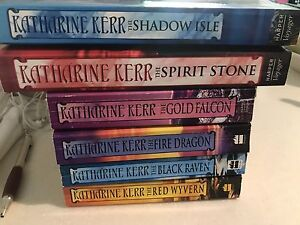 Katherine Kerr  dragon Mage series 6 books Cloverdale Belmont Area Preview