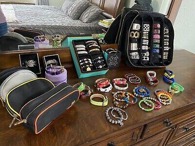 Rustic Cuff Lot - 75 Cuffs & Storage