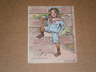 Vintage Jingle Jokes Advertising Promo Brochure by Hires Root Beer 1901