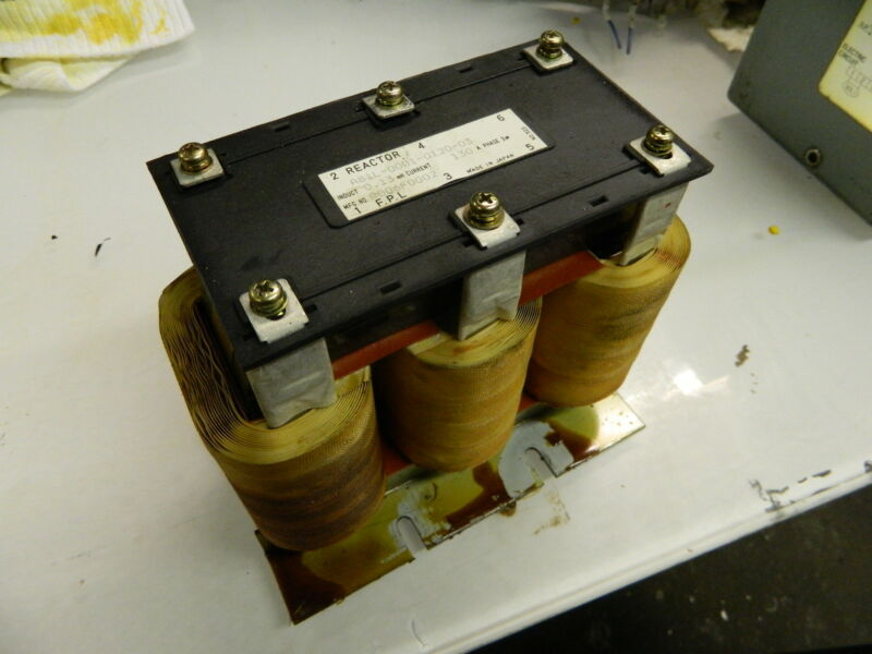GE Fanuc Line Reactor Transformer, A81L-0001-0120-03, Used, SHIPS SAME DAY