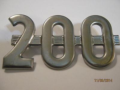 Farmall 200 Hood Side Number