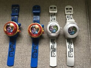Yo Kai watches, audio and projected