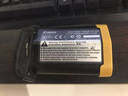 Genuine Canon LP-E4 Battery for 1Ds III, 1D IV, 1DX, 1DC, 1D III