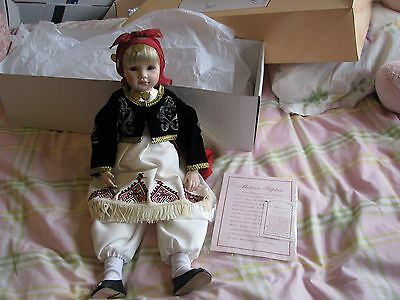 Dolls By Pauline Pauline's Doll Limited Edition Signed 70/950 MELINA SOPHIA