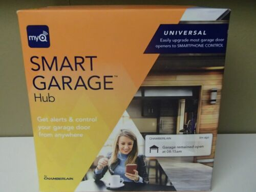 MyQ Smart Garage Door Opener Chamberlain MYQ-G0301-E - Wireless Garage Hub