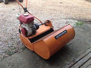 Morrison reel drum mower Mylor Adelaide Hills Preview