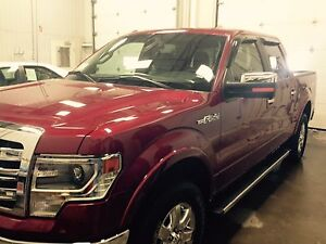 2014 F 150 Lariat , Loaded ,winter tire on rim, service plan