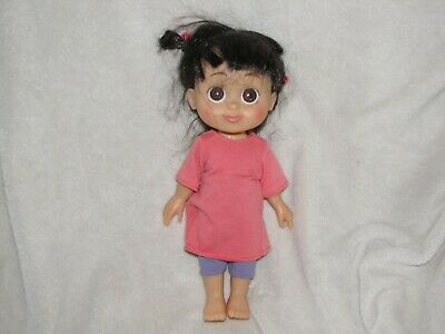 """Disney Babblin' Boo Monsters Inc Talking Singing Doll 2001 Hasbro 11.5"""", used for sale  Rochester"""