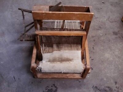 Antique/Vintage Table Top Loom Weave  for sale  Janesville
