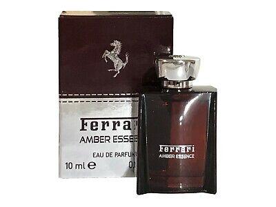 Miniature Mini Ferrari Amber Essence 10ml EDP Men Aftershave