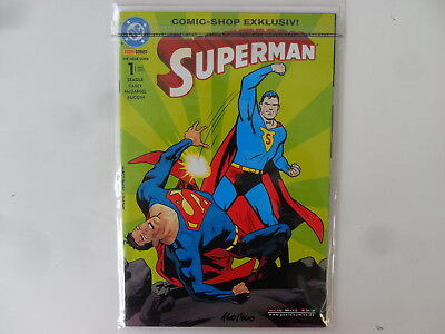 DC - Panini Comics - Superman # 1 (2003) - Comic-Shop Exklusiv - Zustand: 0-1/1