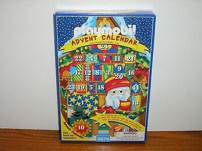 Playmobil 3976 Christmas Advent Calendar Kris Kindle Market Toys Santa MIB 1998