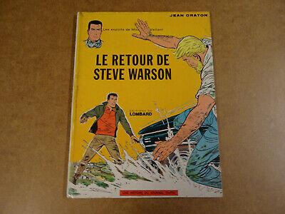 BD / MICHEL VAILLANT - LE RETOUR DE STEVE WARSON