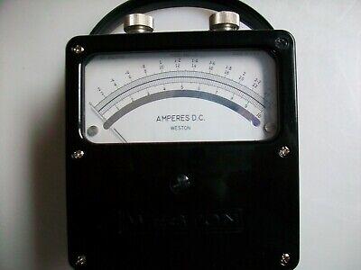 Weston 931 Series D.c. Ammeter 0-2.5 0-10 0-25 Amps.
