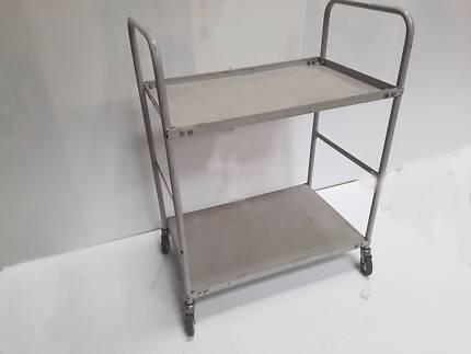 Heavy Duty Commercial Grade Steel Warehouse Trolley (RRP $499)
