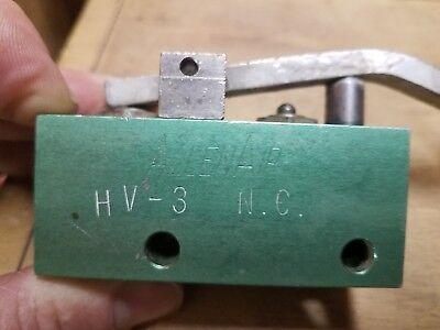 Allenair Hv-3-nc Pneumatic Limit Switch Control Valve
