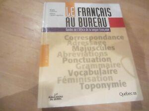 Le français au bureau achetez ou vendez des livres dans grand