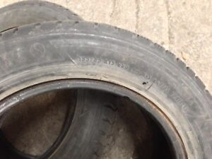 USED WINTER TIRE 185 65R15 -  $120 for 4 tires without the rim.