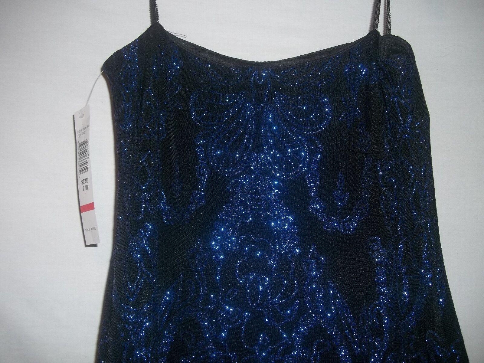 Blue 7 black dress juniors