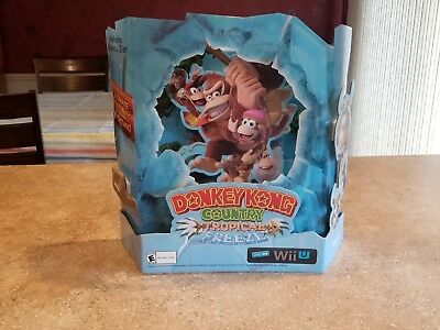 Donkey Kong Country  Tropical Freeze Counter Display Promotional Item