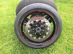 Set de roues GSXR 1000