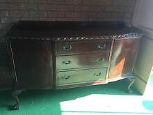 Polished Timber Sideboard Kurmond Hawkesbury Area Preview
