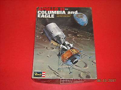 APOLLO 11- COLUMBIA AND EAGLE Spacecraft 1/96 Scale Unbuilt Plastic Model Kit
