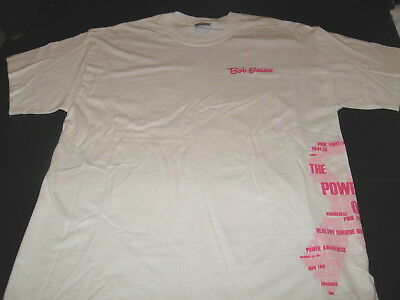 BOB EVANS Restaurants Kind Best For The Cancer Cure - Pink Power T-Shirt New!